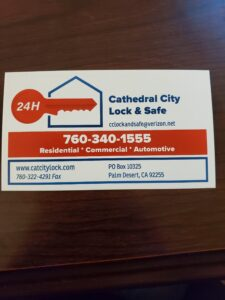 Cathedral City Lock & Safe